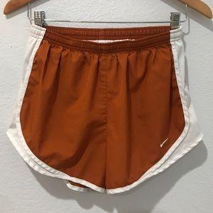 Nike Tempo Track Shorts Running Burnt Orange White